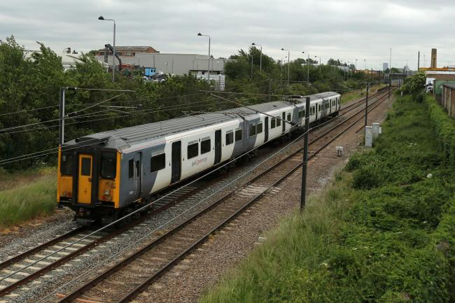 People are being warned of reduced train services this weekend. Photo: Mark Soanes