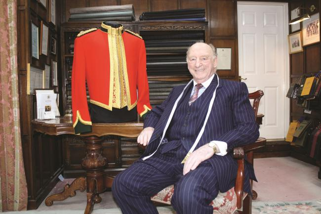 Geoffrey Golding launched G.D Golding, the well-known bespoke tailors in St Albans