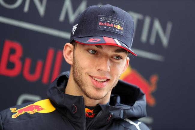 Red Bull's Pierre Gasly