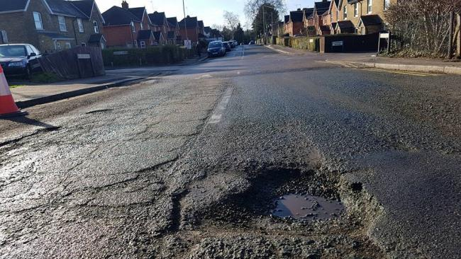 Hertfordshire is one of the worst counties for potholes, according to a survey