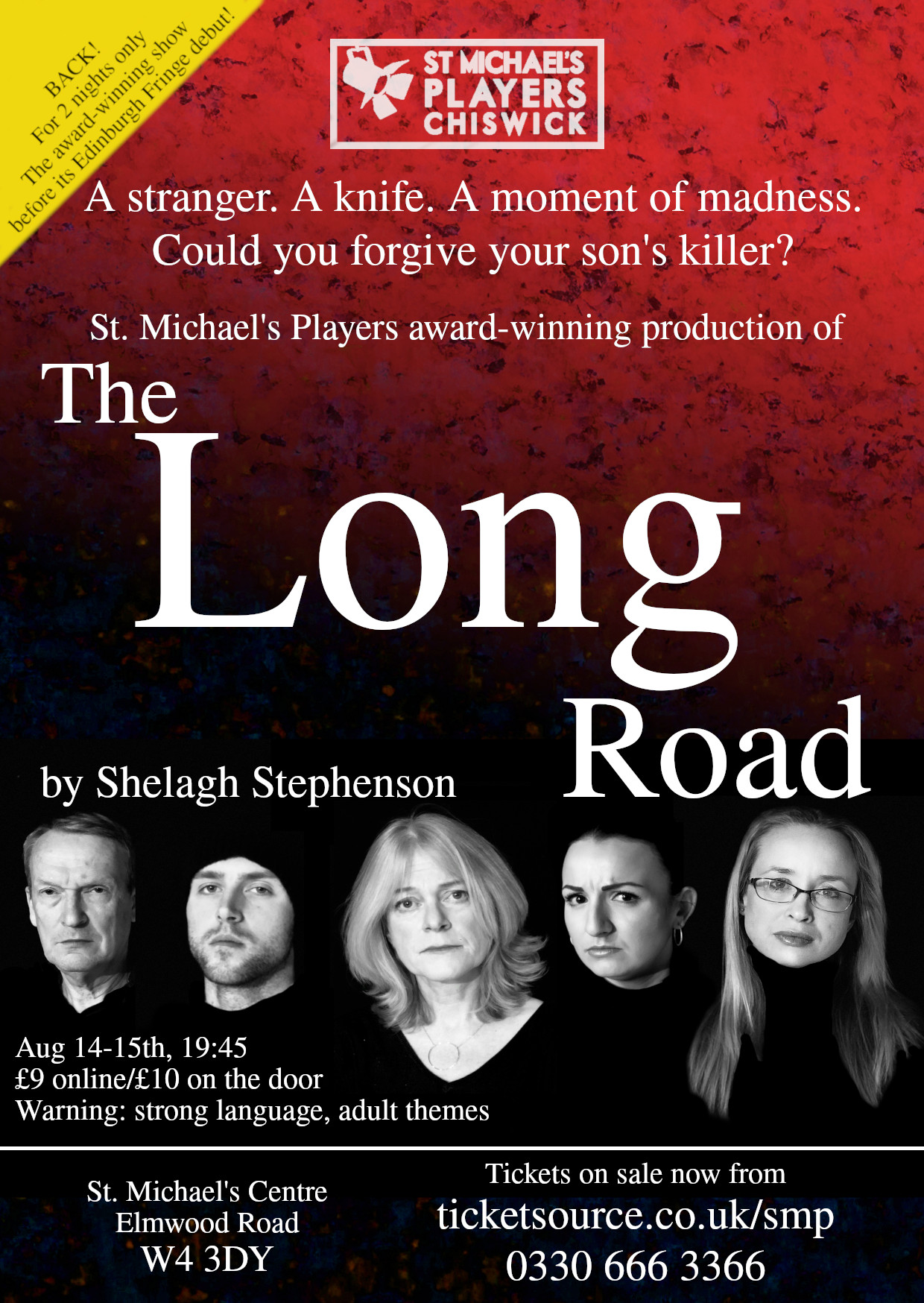Edinburgh Fringe Preview | The Long Road by Shelagh Stephenson