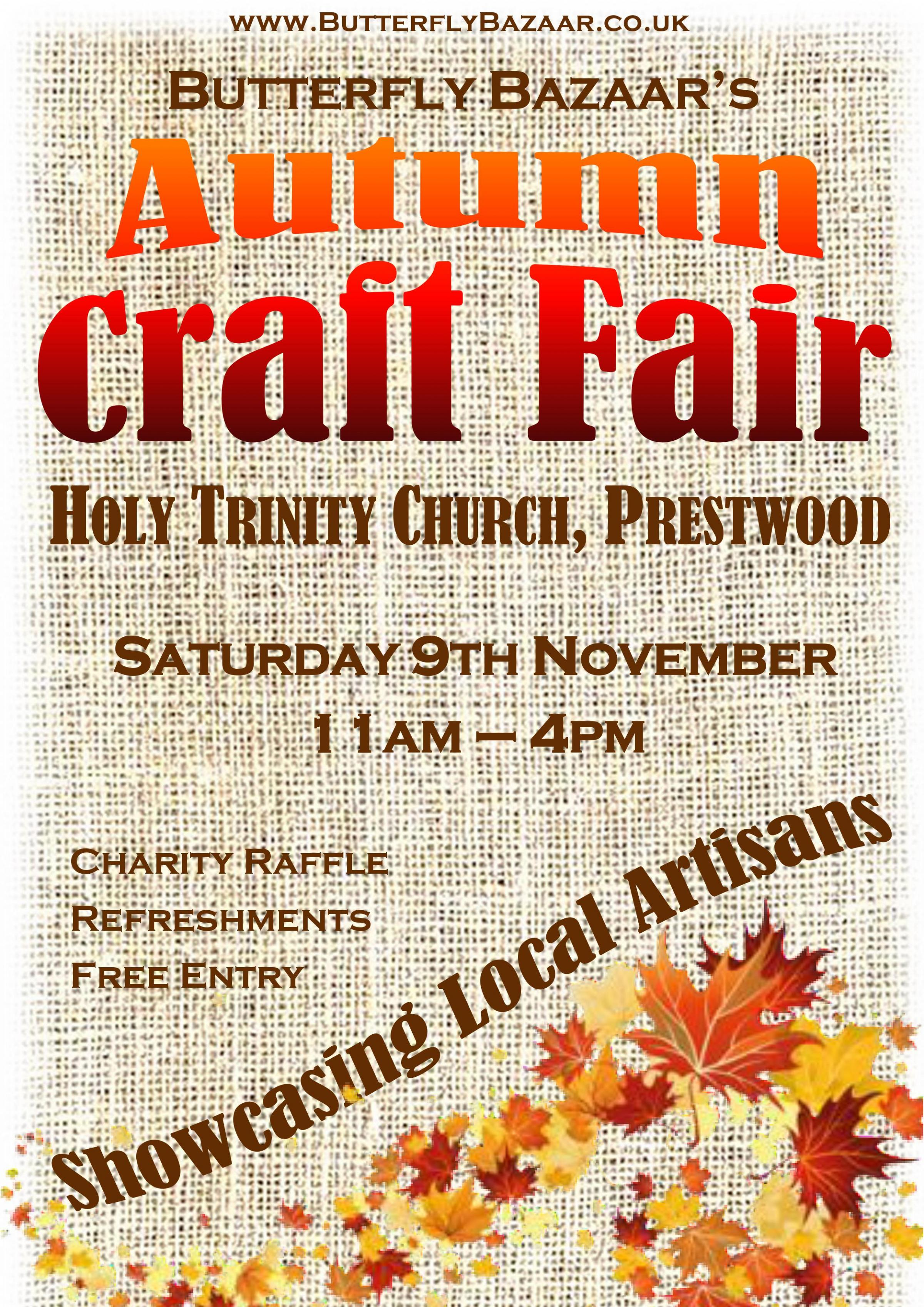 Butterfly Bazaar's Autumn Craft Fair