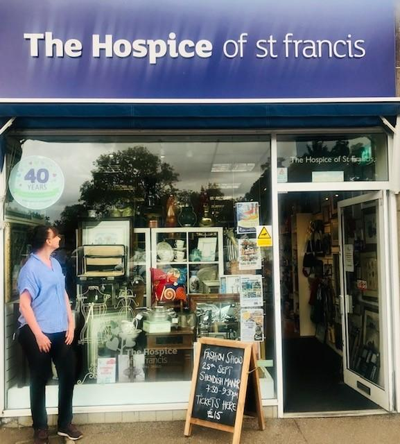 The Hospice of St Francis is celebrating its 40th anniversary