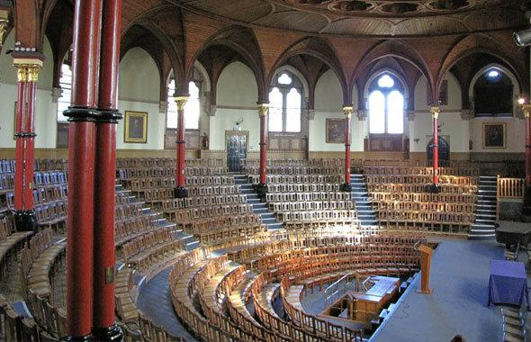 Old Harrovians stage Richard lll in Harrow School's Speech Room