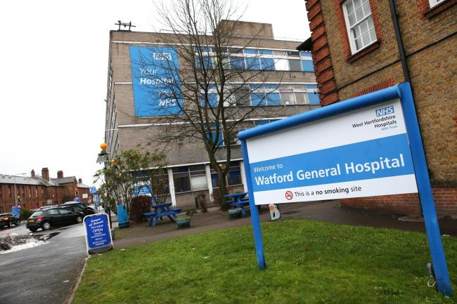 Campaigners took legal action after Herts Valleys CCS decided to redevelop Watford General, St Albans City and Hemel Hempstead hospitals. Photo: Holly Cant