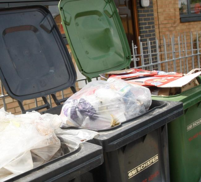 Councils will be looking at what people put in their bins. Photo: Pippa Douglas