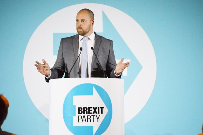 William Berry will not contest the Watford seat (photo credit Brexit Party)