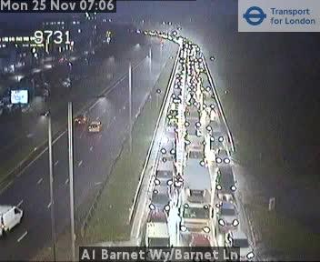 Morning update: Heavy traffic on the M1 and delays on A1