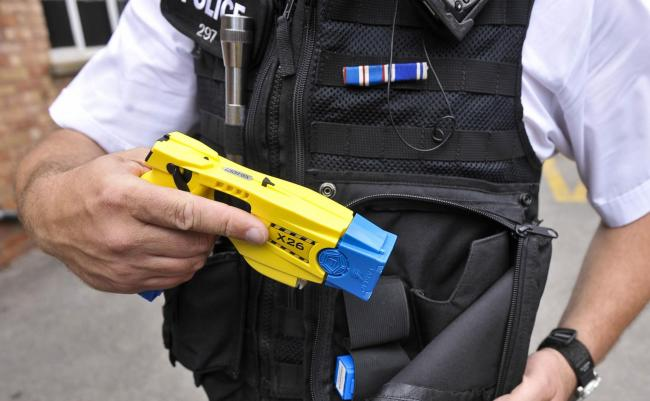 Police can now bid for more tasers within their force to protect officers and the public. (Photo: Ben Birchall/PA Wire)