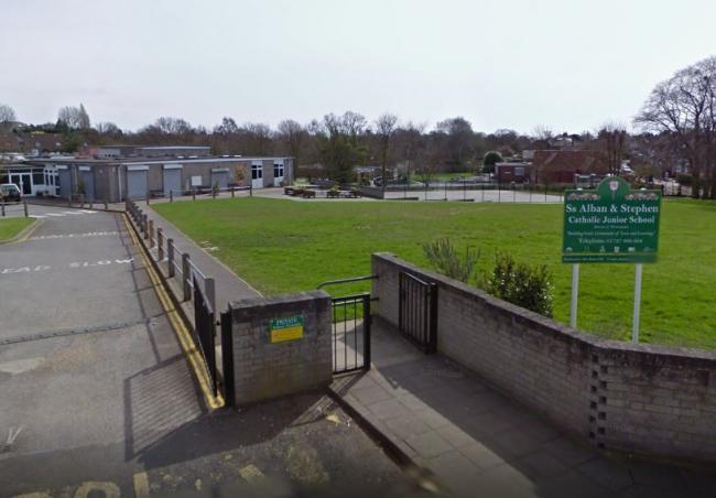 St Alban and St Stephen Catholic nursery and junior schools can now merge together. Photo: Google Street View
