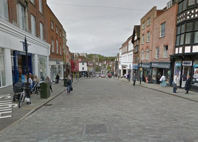 Guildford high street is typical of every high street in the country. Photo: Google