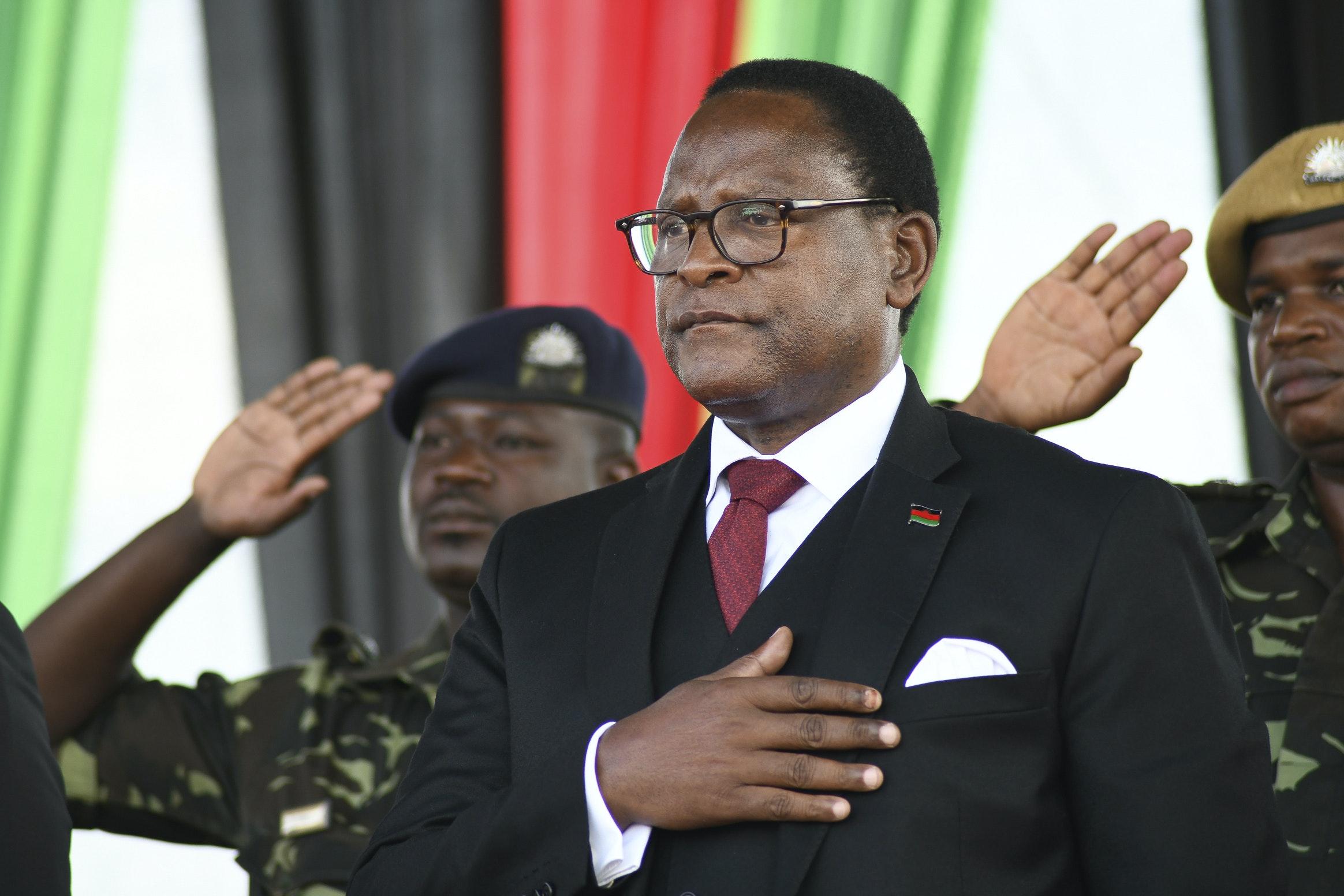 Lazarus Chakwera inaugurated as Malawi's new president | St Albans ...