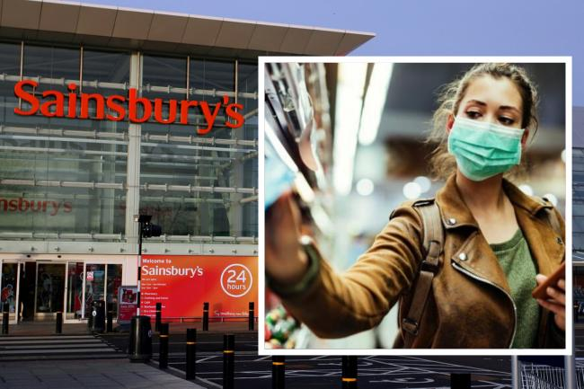 Sainsbury's has told customers it will not be monitoring the use of face masks in UK stores from Friday