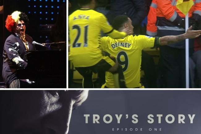 Troy's Story premiered on Youtube last night. Photo: Watford FC