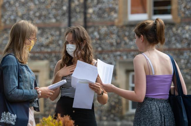 Ecam boards downgraded nearly two in five pupils' grades in England. Photo: PA Wire