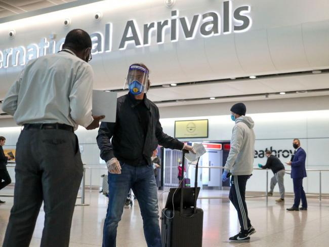 "The Transport Secretary has acknowledged that varying advice for quarantining when arriving in different UK nations from abroad ""creates confusion"""