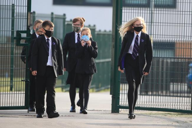 More than 1,000 pupils were sent home in the first two weeks of term. Credit: PA (stock image)