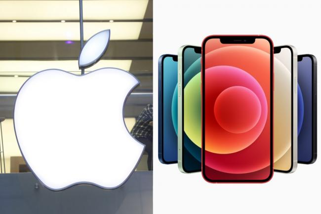 Apple reveal changes to this year's iPhone launch at stores across the UK. Pictures: PA Wire/Apple
