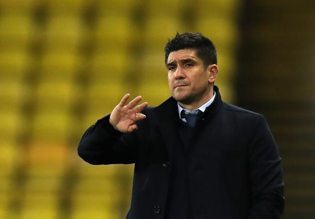 Watford head coach Xisco Munoz. Picture: PA