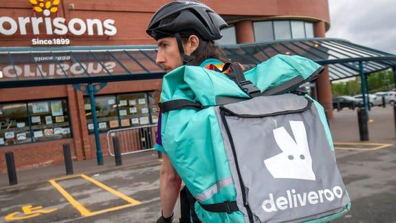 How to review free Deliveroo takeaways for a year. (PA)