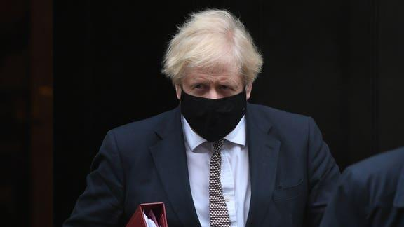 Boris Johnson issues fresh lockdown warning as research shows 50% Covid increase. (PA)