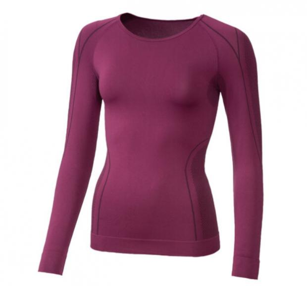 St Albans & Harpenden Review: Crivit Ladies' Seamless Thermal Long- Sleeve Vest. (Lidl)