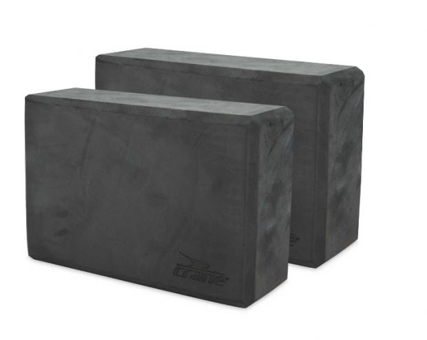 St Albans & Harpenden Review: Crane Dark Grey Yoga Block 2 Pack. (Aldi)