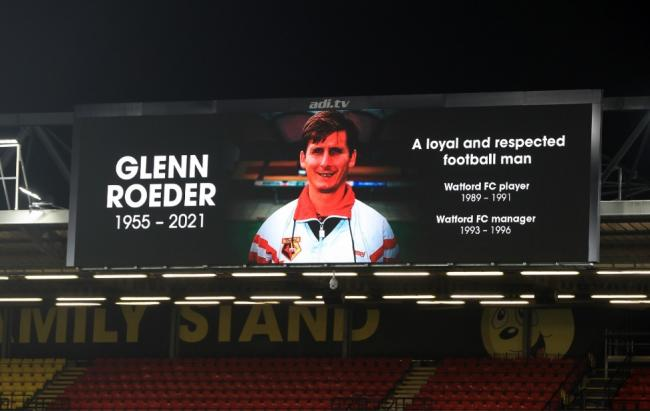 Glenn Roeder died last month aged 65 Picture: PA