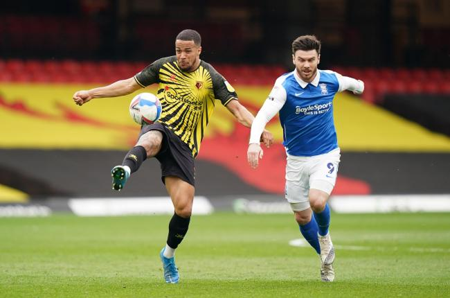 William Troost-Ekong led some honest discussions between Watford players earlier in the season. Picture: PA
