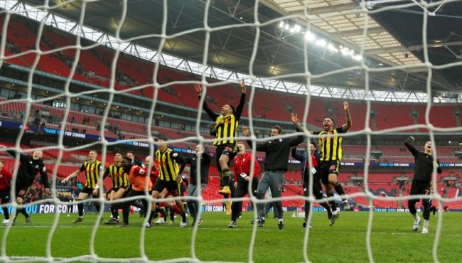 Watford came from behind to beat Wolves in the FA Cup semi final. Picture: Action Images