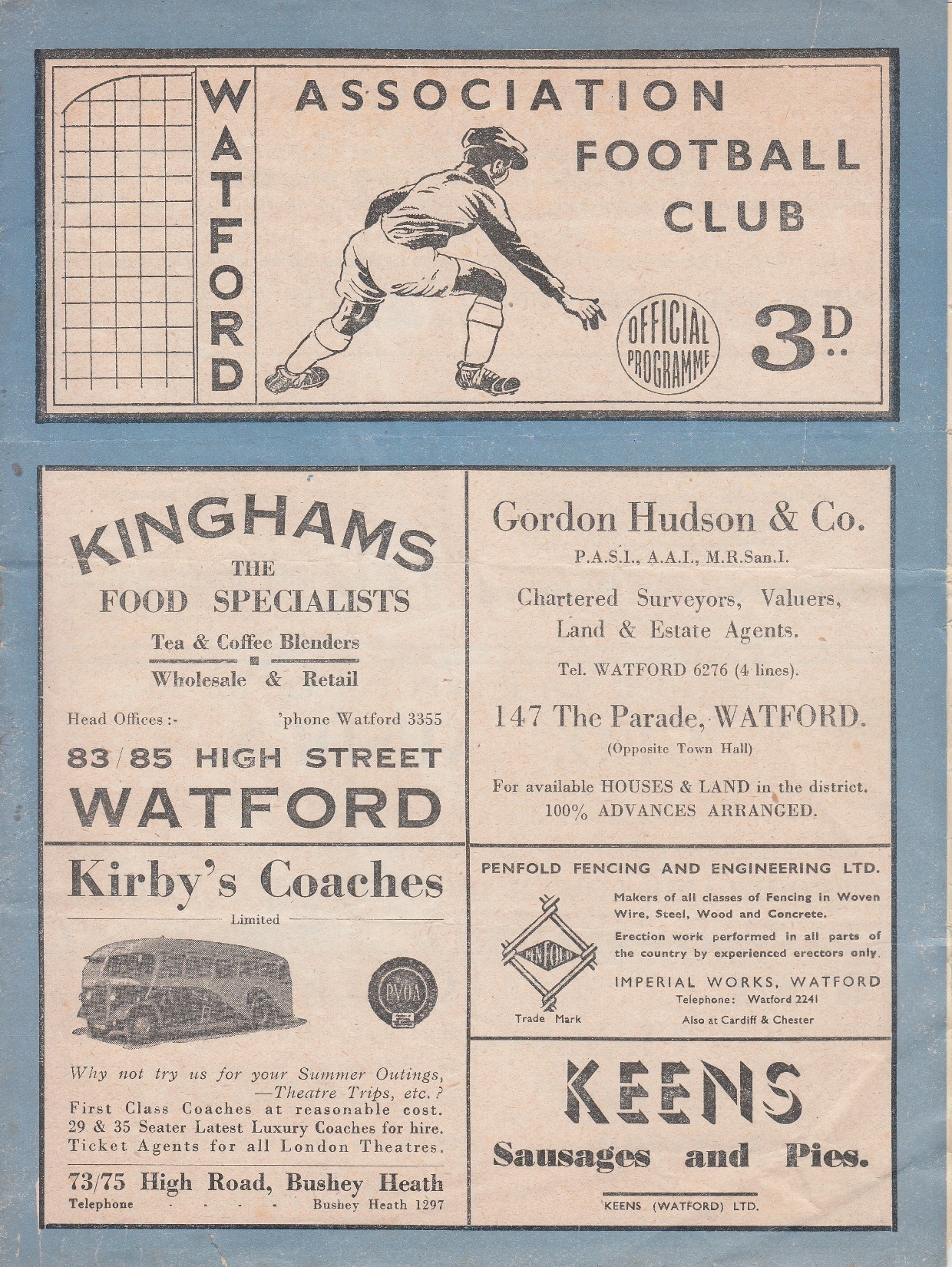 Do you know why the Preston programme was printed without a date? Credit: Phil Hayes