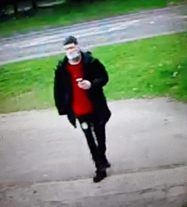 Police would like to identify this person (photo Herts Police)