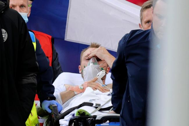 Christian Eriksen 'awake and stable' after collapsing during Denmark-Finland tie   St Albans & Harpenden Review