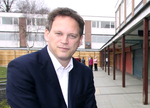 MP Grant Shapps - or is it Michael Green?