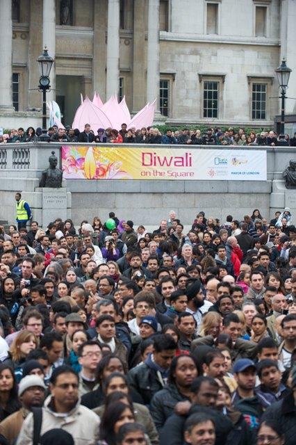 St Albans & Harpenden Review: Thousands at Trafalgar Square Diwali celebrations