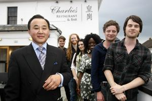 Famous faces turn out for restaurant launch