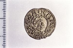 An example of one of the stolen coins