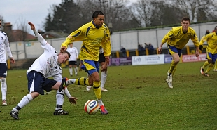 Howard Newton has signed on dual registration from Staines Town: Robert Walkley