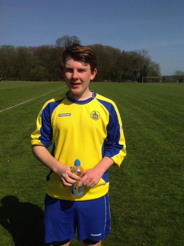 Jale Deacon set a new appearance record for St Albans City Youth