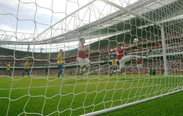 St Albans & Harpenden Review: Picture from Arsenal v Saints at Emirates Stadium. The unauthorised downloading, copying, editing, or distribution of this image is strictly prohibited.