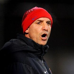 Steve Bould shared Arsenal fans' frustration on Wednesday night