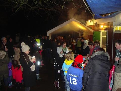 Scouts' fireworks night raises £1,500