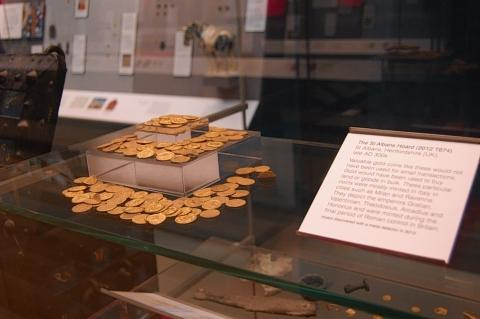 Roman coins found in St Albans go on display in British Museum