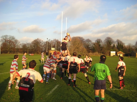 Harpenden were beaten by Chiswick
