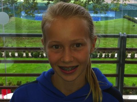 Georgie Walker has been selected for the FutureStars programme