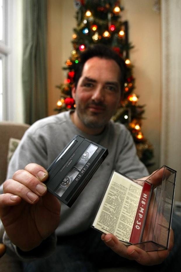 Man seeks owner of Christmas home videos from the 1990s found in St Albans shop