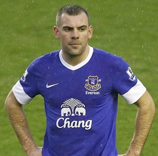 Darron Gibson is expected to be out for four weeks