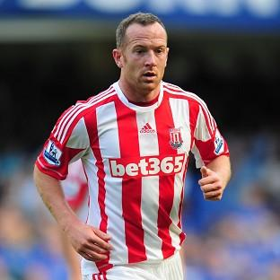 Charlie Adam has not played for Stoke since the death of his father last month
