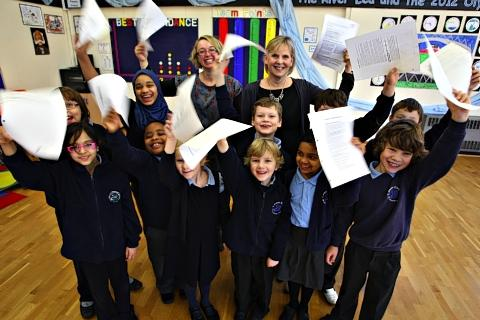 Harpenden primary school celebrate Ofsted report