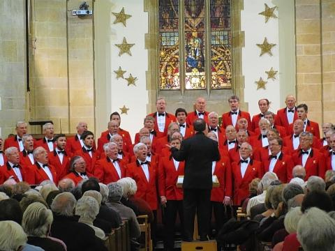 Welsh choir charity show 'a fantastic evening'